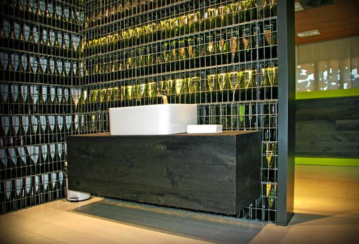 Bodega Palax: Salones de estilo moderno de Rafael Hernáez Loza AITEC Proyectos