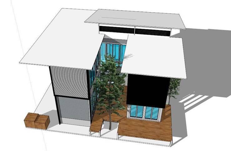 การเล่นแสงและเงาจากธรรมชาติ:   by ออกแบบ เขียนแบบ ก่อสร้าง