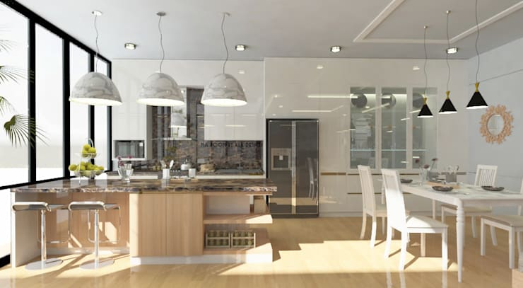 ออกแบบตกแต่งภายใน บ้าน MODERN LUXURY:  ตกแต่งภายใน by Studio Ma_room decrorate and design