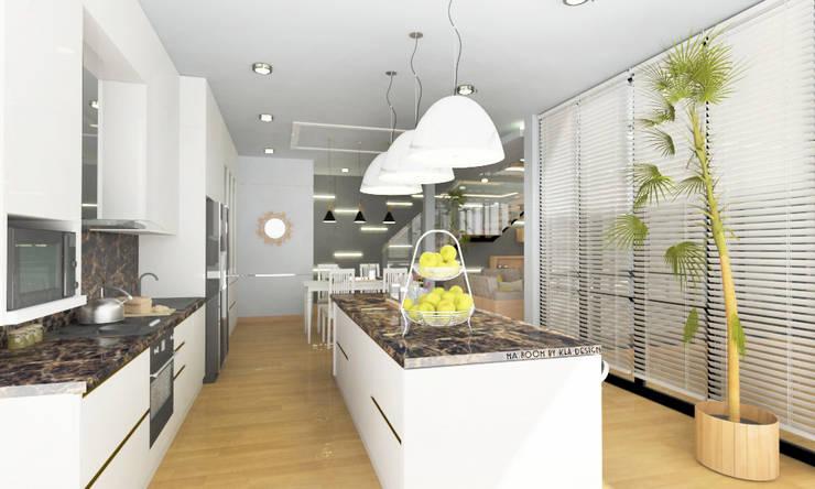 ออกแบบตกแต่งภายใน บ้าน MODERN LUXURY:  ห้องทานข้าว by Studio Ma_room decrorate and design