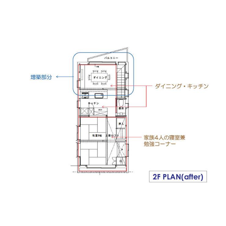Phòng ăn by 豊田空間デザイン室 一級建築士事務所