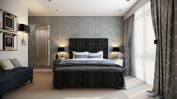 modern Bedroom by Hampstead Design Hub