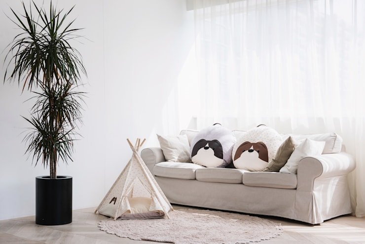 반려동물 가구 Pet Furniture – TEEPEE TENT: HUTS & BAY의  상업 공간