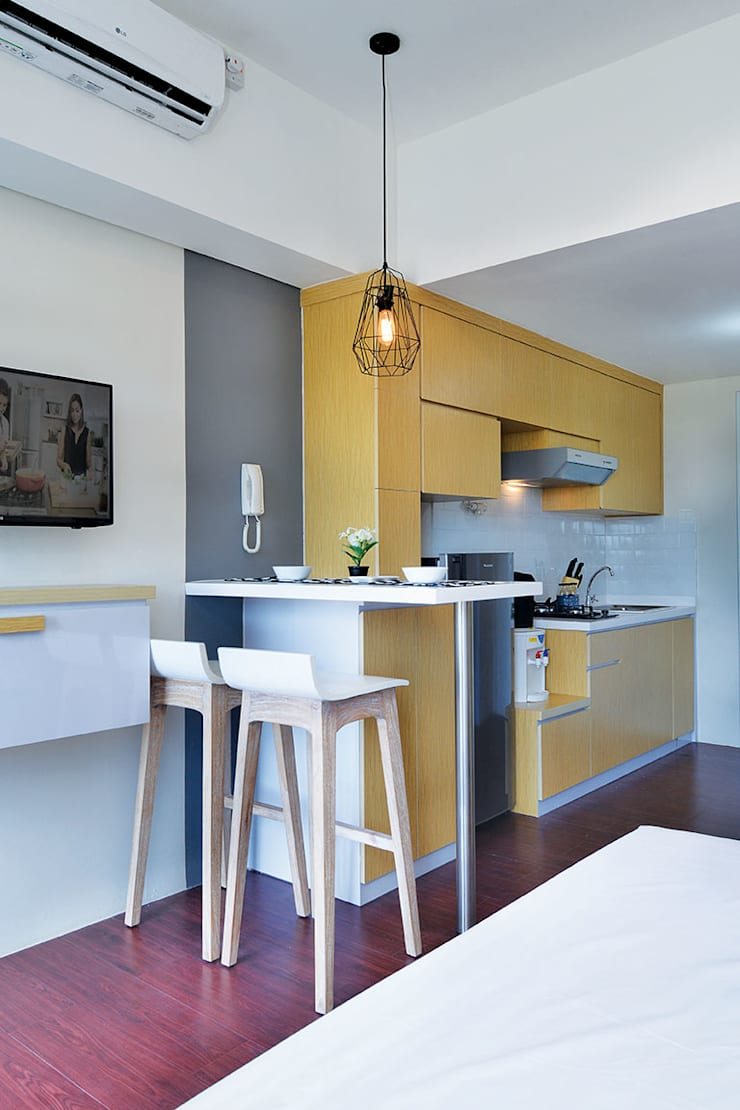 Studio Apartment – Bintaro Plaza Residence:  Ruang Makan by RANAH