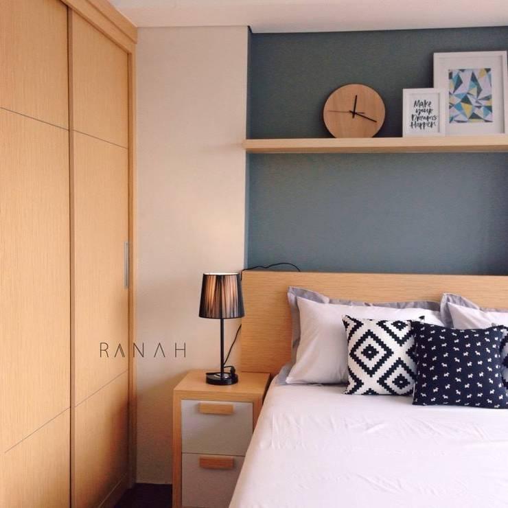 Dormitorios de estilo  por RANAH