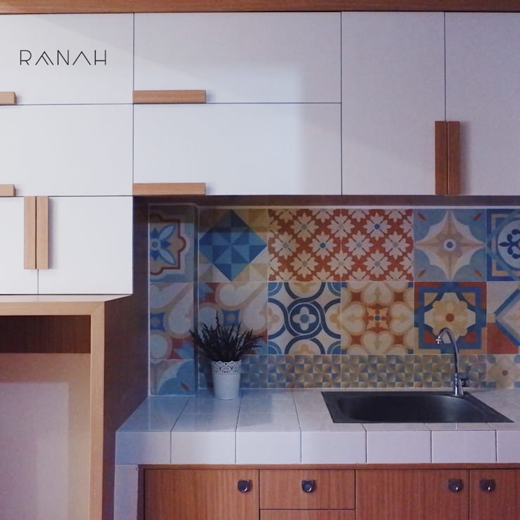 Studio Apartment - Margonda Residence 2:  Dapur by RANAH