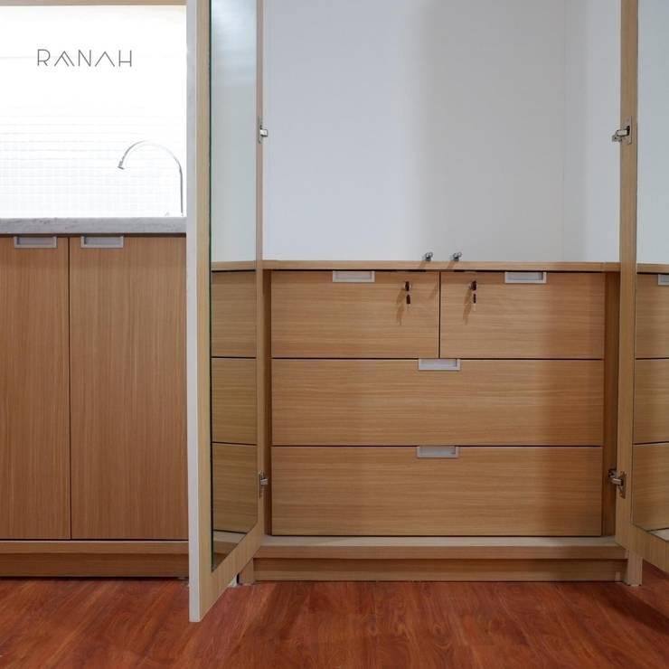 Studio Apartment – Woodland Park Kalibata:  Kamar Mandi by RANAH