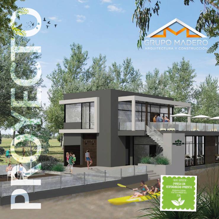 Proyecto Club House Pinares del Sur: Casas de estilo  por Grupo Madero