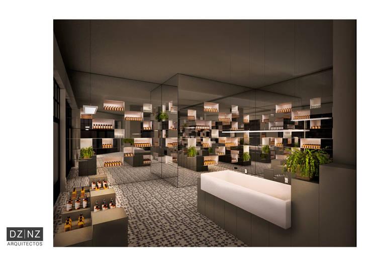 Interior 3: Oficinas y locales comerciales de estilo  por DZ NZ Arquitectos,