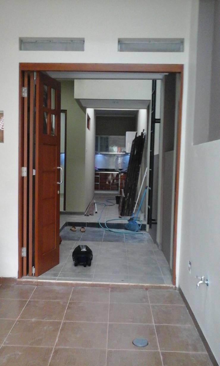 foto sesudah, akses area servise:   by Alfaiz Design