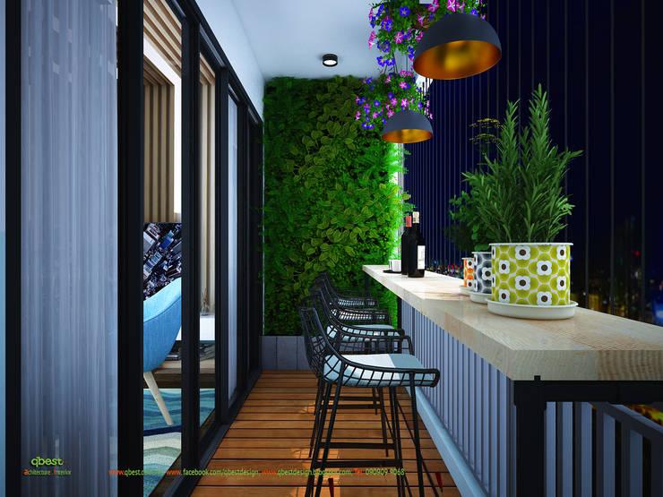 Logia:  Bathroom by Công ty TNHH Thiết Kế và Ứng Dụng QBEST