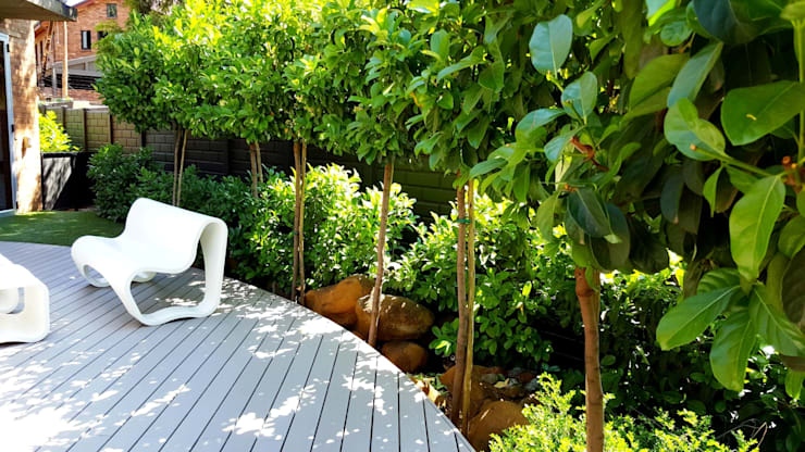 Lynnwood new outdoor space:  Garden by Gorgeous Gardens, Modern
