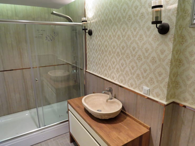 MİMPERA – Ebeveyn Banyosu:  tarz Banyo