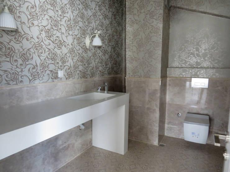 MİMPERA – Üst Kat Banyo:  tarz Banyo
