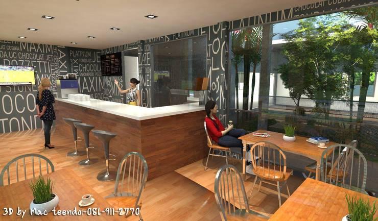ร้านกาแฟ เล็กๆ.:  ตกแต่งภายใน by MaxShop