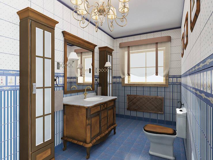 浴室 by Дизайнер Светлана Юркова