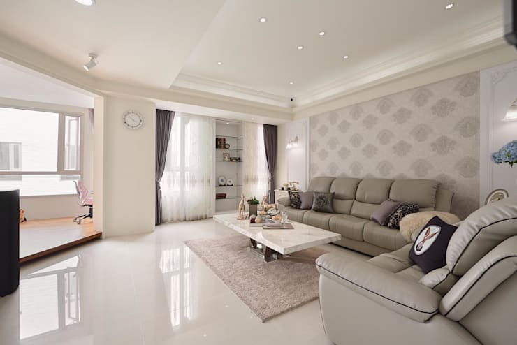 Living room by 趙玲室內設計, Classic