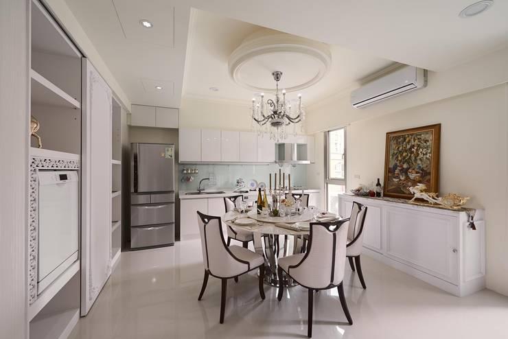 Dining room by 趙玲室內設計, Classic