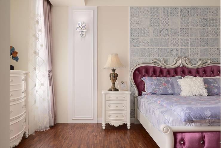 Schlafzimmer von 趙玲室內設計, Klassisch