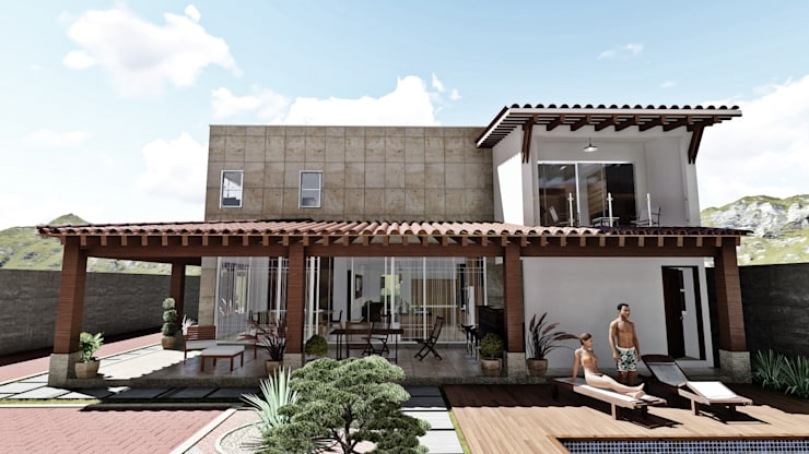 房子 by IAD Arqutiectura