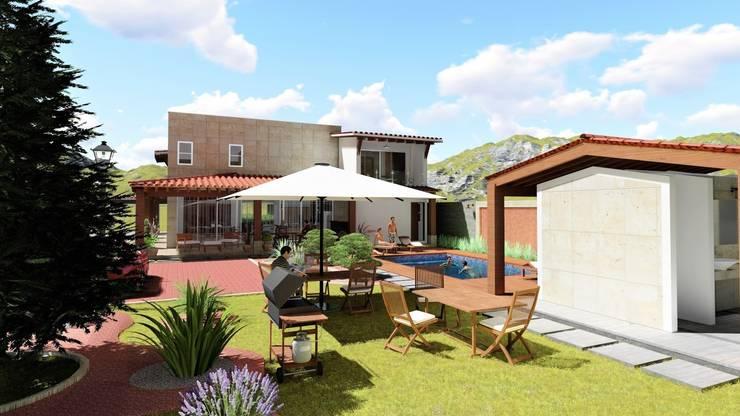 庭院 by IAD Arqutiectura