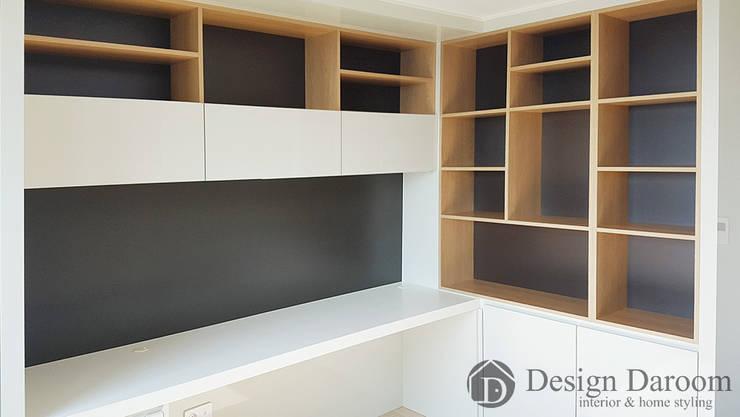 미사 푸르지오 아파트 침실: Design Daroom 디자인다룸의  방