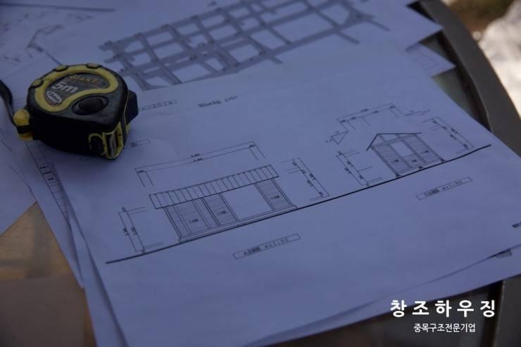 [중목구조 전문브랜드 창조하우징] 제주 한동리 로그하우스: 창조하우징의  ,