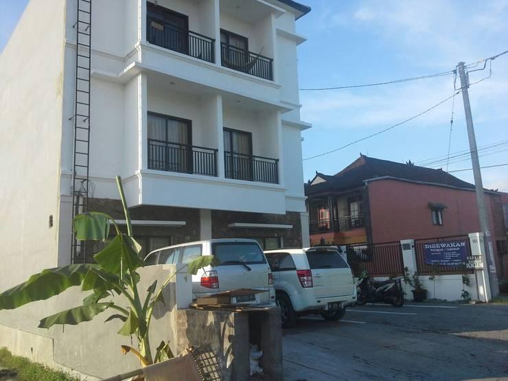 Project Desain Apartment IB Ariwangsa, Denpasar:  Rumah by Jasa Arsitek Jakarta