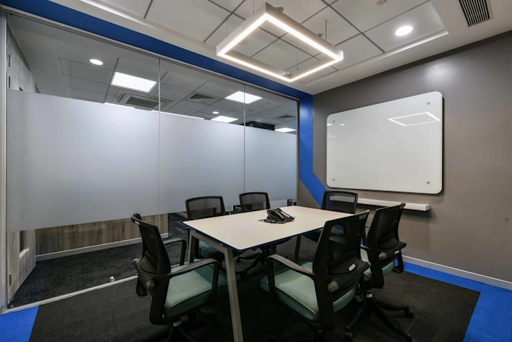 Zensar Technologies:  Commercial Spaces by Worksphere Ventures (I) Pvt. Ltd.,Modern