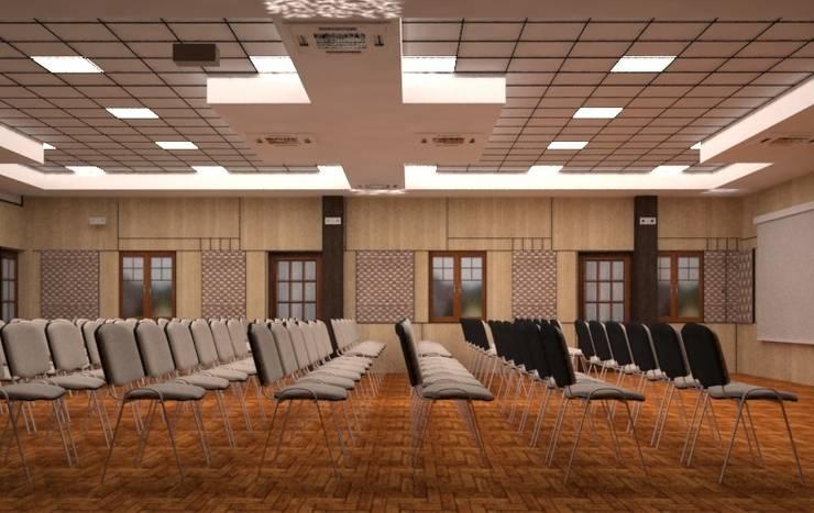 Hindustan Prefabs ltd:  Corridor & hallway by hlk infrastructure pvt ltd