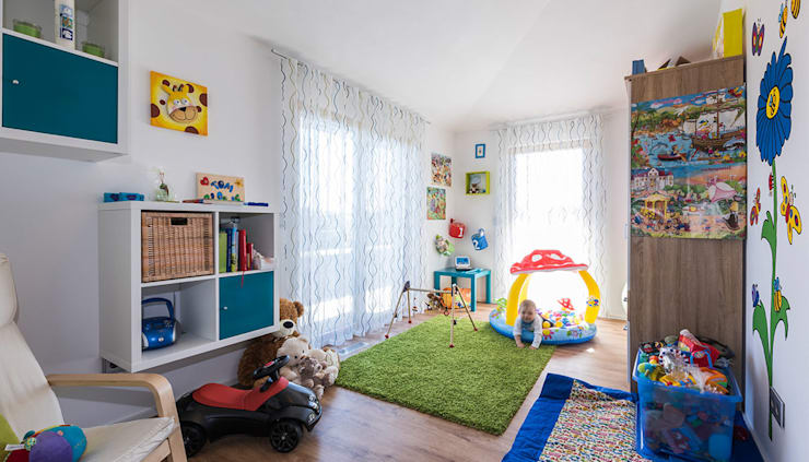modern Nursery/kid's room by KitzlingerHaus GmbH & Co. KG
