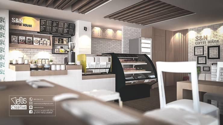 ร้านกาแฟ S&N Coffee สุโขทัย:   by venus creative