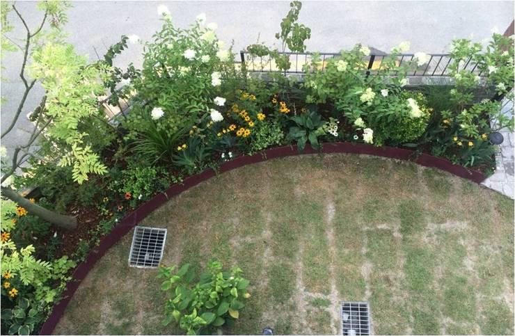 가드닝 프로젝트 – 2016. 은평 한옥마을 K씨 주택: 가든디자인 뜰(garden design 뜰)의  정원