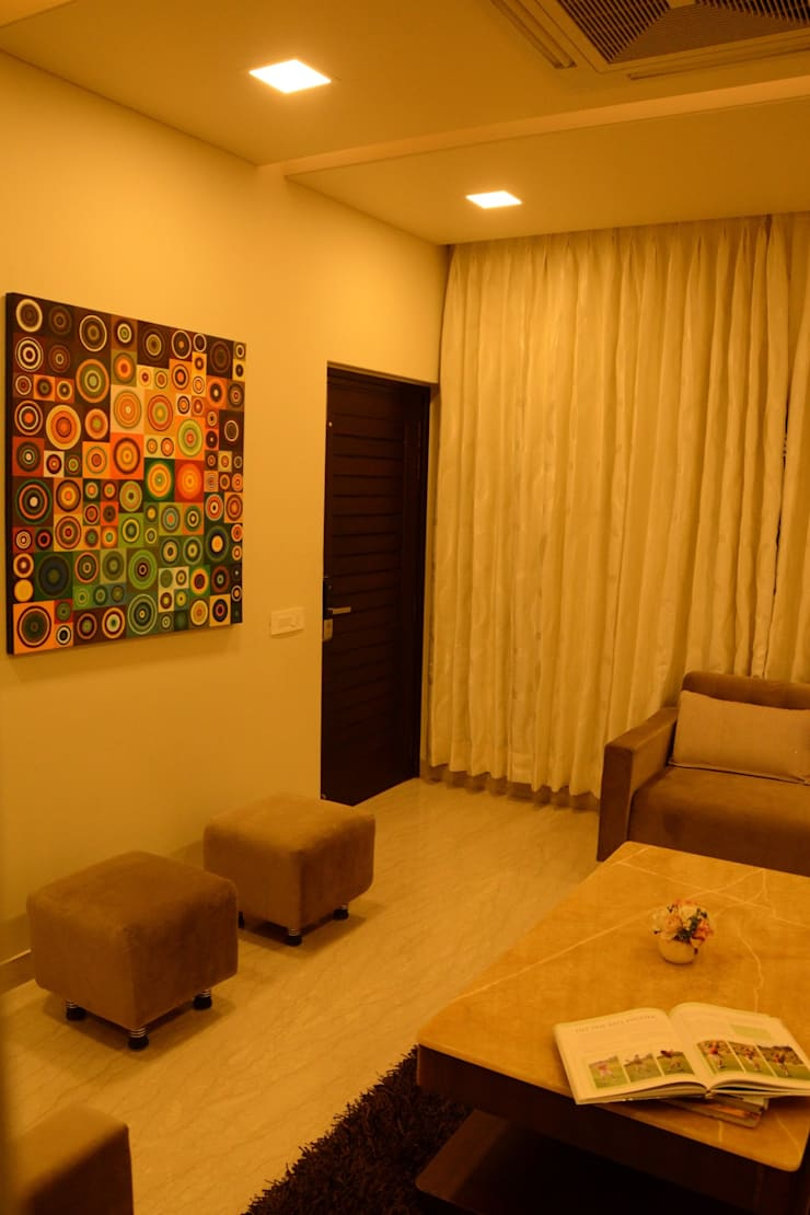 Living room: classic Living room by VB Design Studio