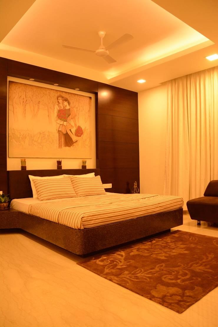 Bedroom: classic Bedroom by VB Design Studio