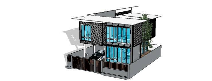 บ้านความสุขของพ่อ:   by ออกแบบ เขียนแบบ ก่อสร้าง