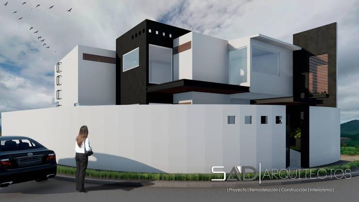 Fachada Principal: Casas de estilo moderno por Studio Arch'D Arquitectos