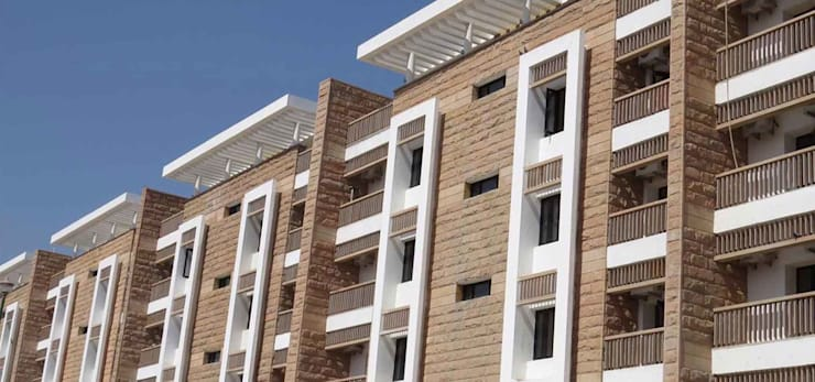 UMAID HERITAGE VILLAS:  Commercial Spaces by INI INFRASTRUCTURE & ENGINEERING