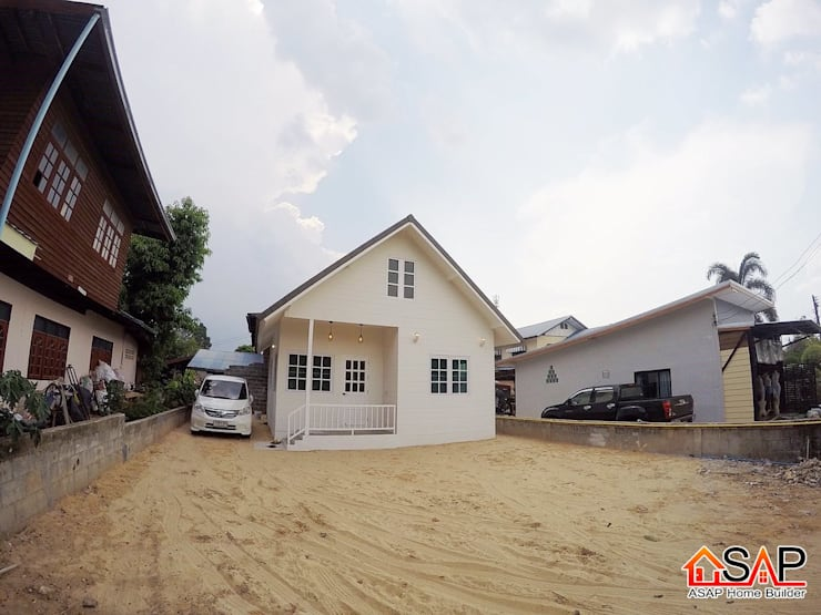 ASAP P29 บ้านชั้นเดียว 2 ห้องนอน 1 ห้องน้ำ:   by Asap Home Builder