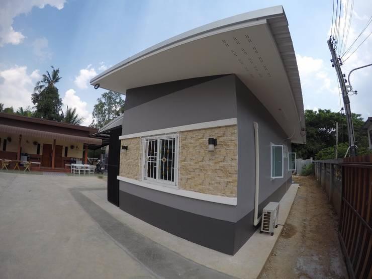 ASAP P26 บ้านชั้นเดี่ยว 2 ห้องนอน 2 ห้องน้ำ.:   by Asap Home Builder