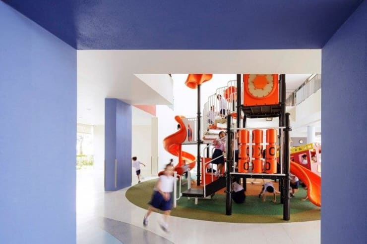Charoenpong Kindergarten:   by I Like Design Studio