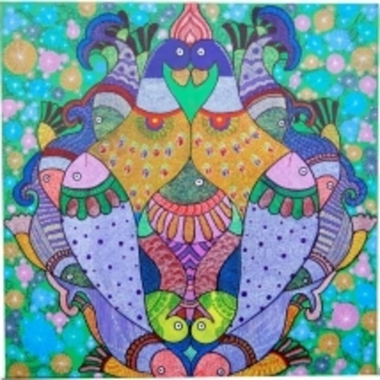 traditional painting : asian  by Indian Art Ideas,Asian