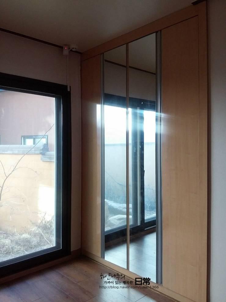 부부 침실 before : 하얀나무의  다이닝 룸