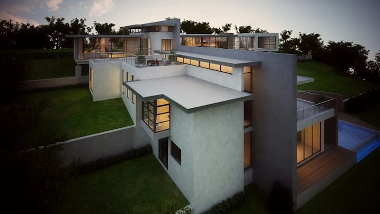 House van Wyk:  Houses by John McKenzie Architecture