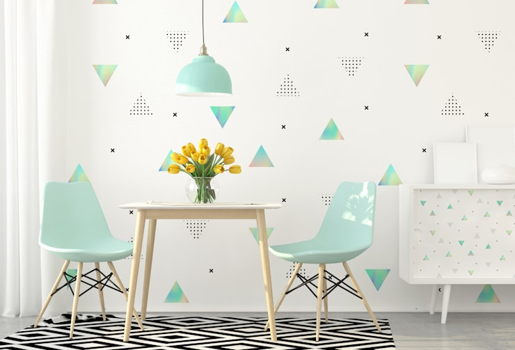 IN THE PRISM KINGDOM : modern Dining room by Pixers