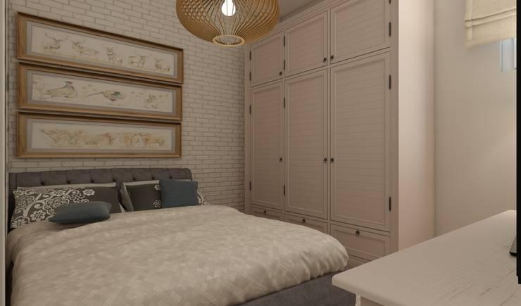 EZGİ AYDOGDU İçmimarlık Danışmanlık ve İnşaat Hiz. – Eyüp_Konut: rustik tarz tarz Yatak Odası
