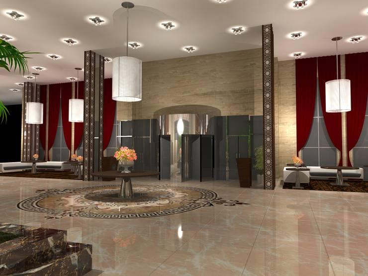 Five star hotel lobby:  Hotels by Gurooji Design