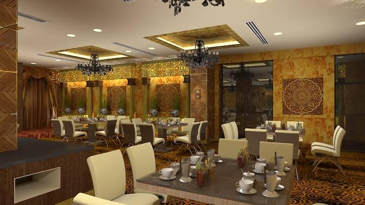 Banquet hall:  Event venues by Gurooji Designs
