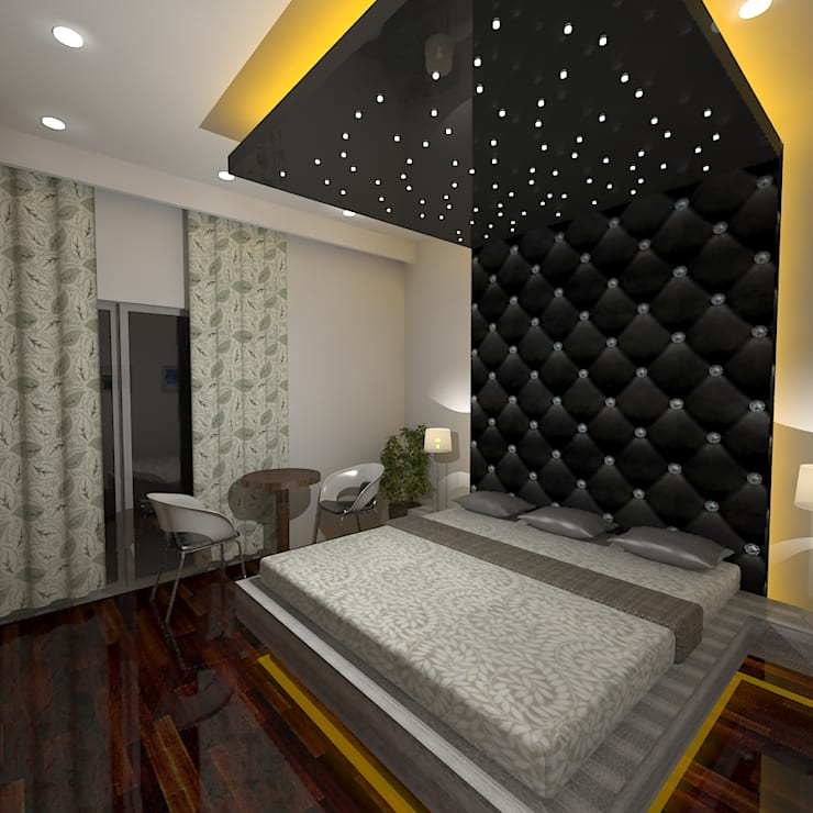 Bedroom by Gurooji Design