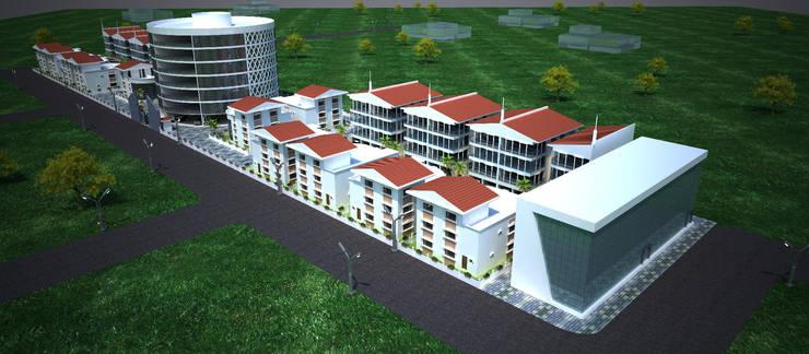 Laurel Architecture:  Houses by Gurooji Designs